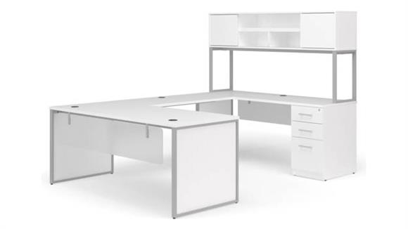 "U Shaped Desks OFM 72""  U-Shaped Desk Set"