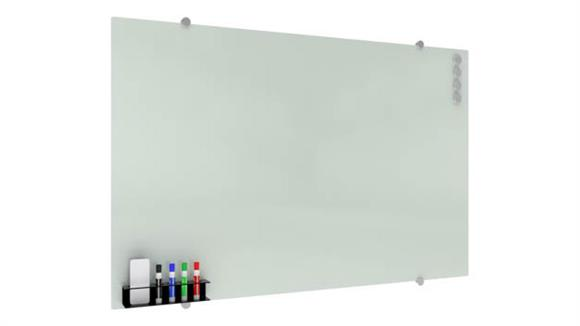"White Boards & Marker Boards OFM 47"" X 30"" Magnet Glass Markerboard"