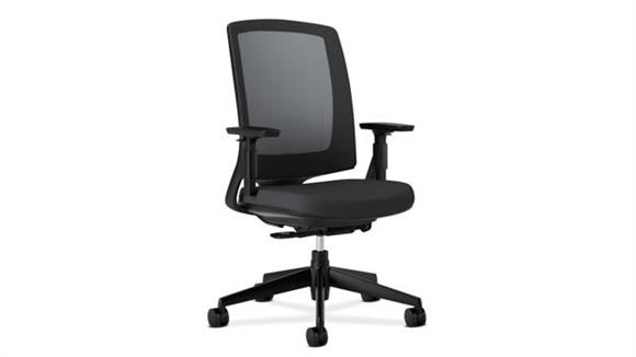 Office Chairs OFM Lota Mesh Mid-Back Work Chair