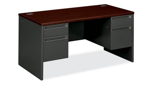 Computer Desks OFM Double Pedestal Desk