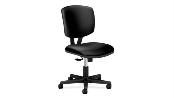 Office Chairs OFM Volt Leather Task Chair