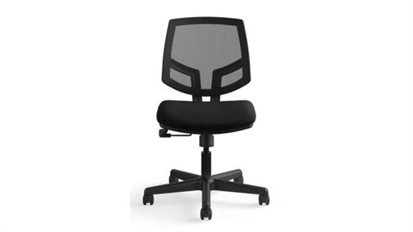 Office Chairs OFM Volt Mesh Back Leather Task Chair