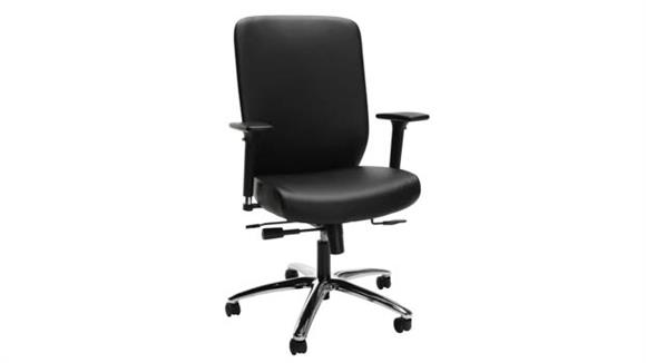 Office Chairs OFM Leather High-Back Executive Chair