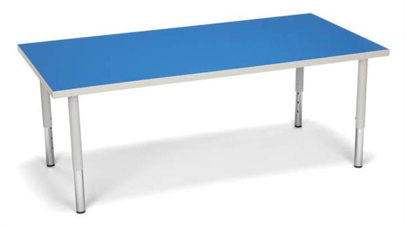 Activity Tables OFM Rectangle Large Leg Table