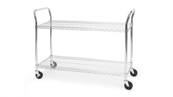 "Utility Carts OFM 18"" x 48"" Heavy Duty Utility Cart"