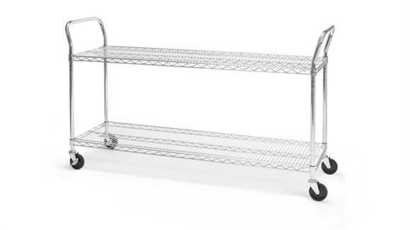 "Utility Carts OFM 18"" x 60"" Heavy Duty Utility Cart"