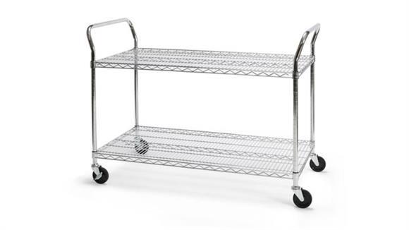 "Utility Carts OFM 24"" x 48"" Heavy Duty Utility Cart"