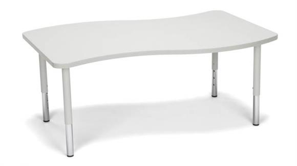 Activity Tables OFM Wave Large Top Small Leg Table