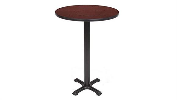 "Pub & Bistro Tables OFM 24"" Round Cafe Height Table"