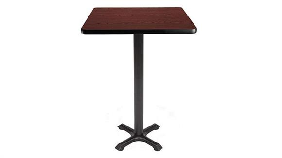 "Pub & Bistro Tables OFM 24"" Square Cafe Height Table"
