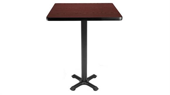 "Pub & Bistro Tables OFM 30"" Square Cafe Height Table"