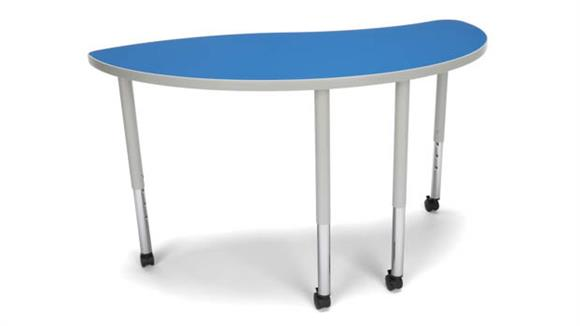 Activity Tables OFM Ying Large Leg Table with Casters