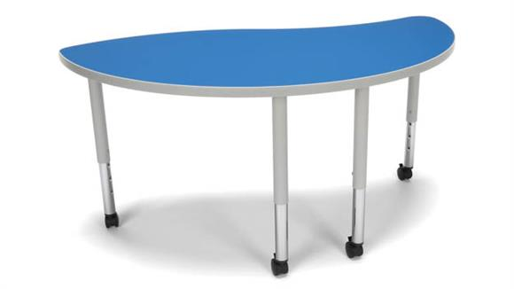 Activity Tables OFM Ying Small Leg Table with Casters
