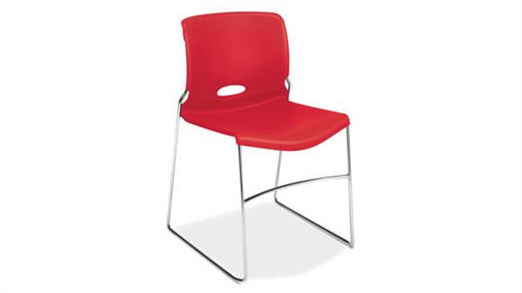 Side & Guest Chairs OFM Stacking Chairs - 4/PK