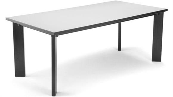 """Library Tables OFM 36"""" x 72"""" Library Table"""