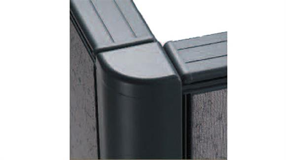 """Office Panels & Partitions Office Source 2 Way Corner Connector for 66"""" High Panels"""