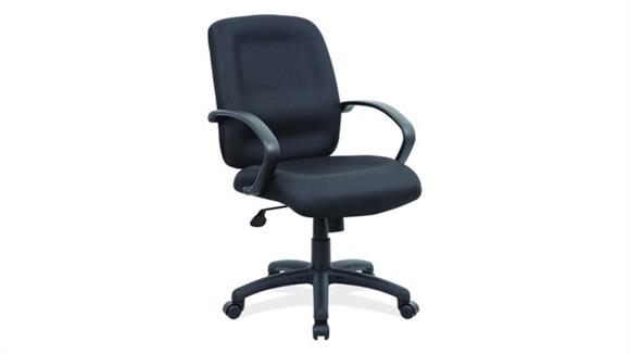 Office Chairs Office Source Executive Mid Back with Black Frame Office Chair