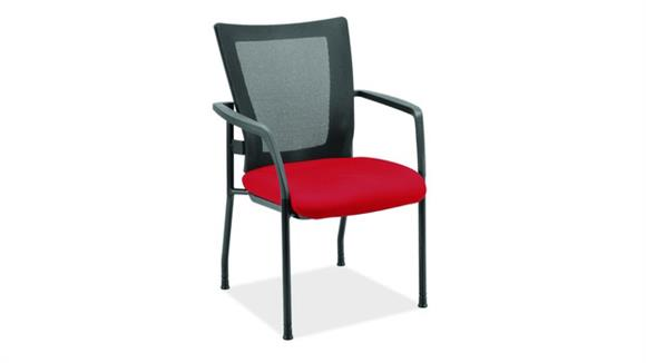 Stacking Chairs Office Source Mesh Back Stacking Chair