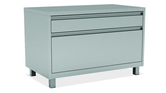 File Cabinets Lateral Office Source 2 Drawer Lateral File Cabinet with Leg Base