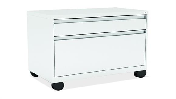 File Cabinets Lateral Office Source 2 Drawer Lateral File Cabinet with Casters
