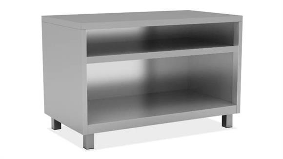 """Bookcases Office Source 36""""W Bookcase with 1 Shelf, Leg Base"""