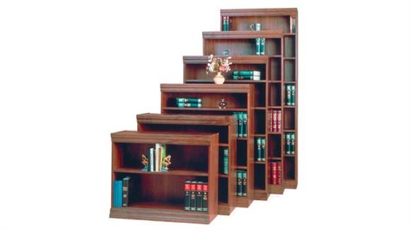 "Bookcases Office Source 30"" x 36"" Wood Veneer Traditional Bookcase"