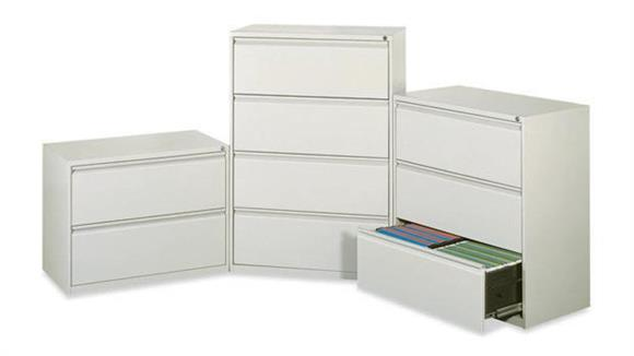 "File Cabinets Lateral Office Source 36""W  3 Drawer Lateral File"
