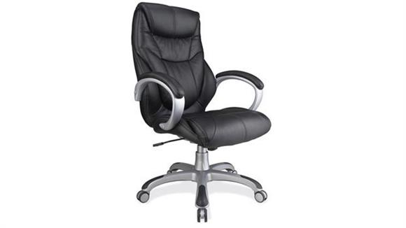 Office Chairs Office Source Leatherette Executive High Back Chair