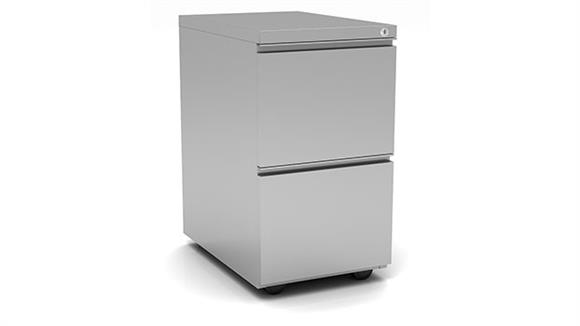 File Cabinets Vertical Office Source 2 Drawer Metal Pedestal