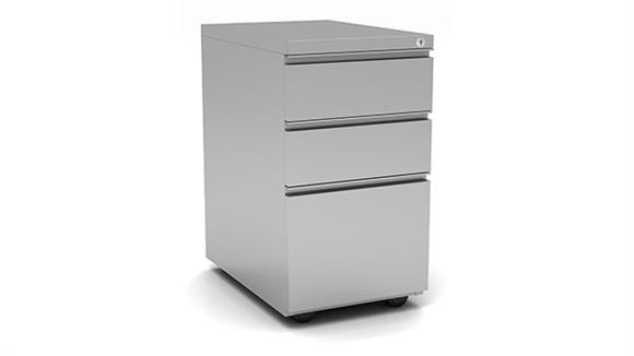 File Cabinets Vertical Office Source 3 Drawer Metal Pedestal