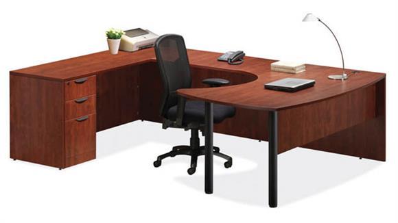 U Shaped Desks Office Source Arc Top U Shaped Desk