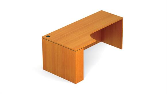 """Office Credenzas Office Source 72"""" Credenza Shell with Left Extension"""