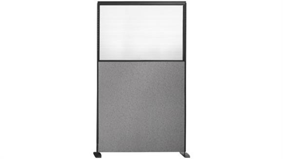 "Office Panels & Partitions Office Source 66""H x 36""W Opaque View Through Upholstered Panel"