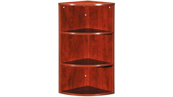 "Bookcases Office Source 36"" High Corner Bookcase"