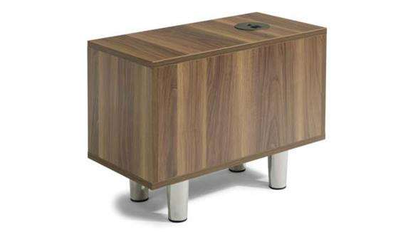 End Tables Office Source Rectangle Power Pod