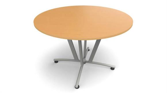 Modular Desks Office Source Round Conference Table