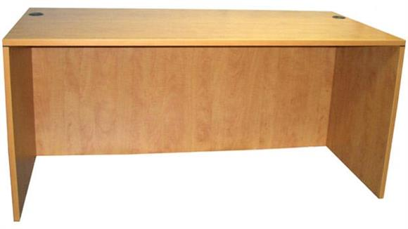 "Executive Desks Office Source 60"" x 30"" Desk Shell"