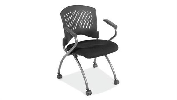 Office Chairs Office Source Nesting Chair with Casters