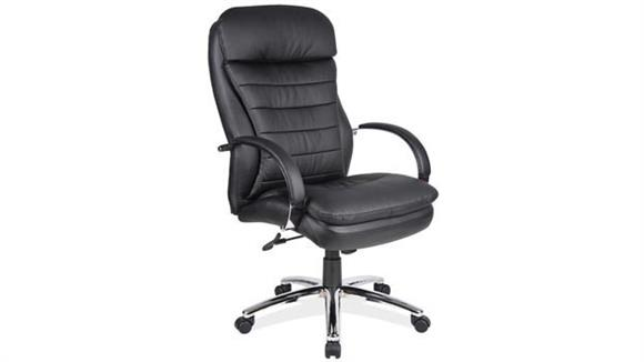 Office Chairs Office Source Executive High Back Chair with Chrome Frame
