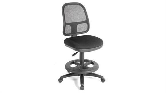 Drafting Stools Office Source Armless Mesh Back Stool