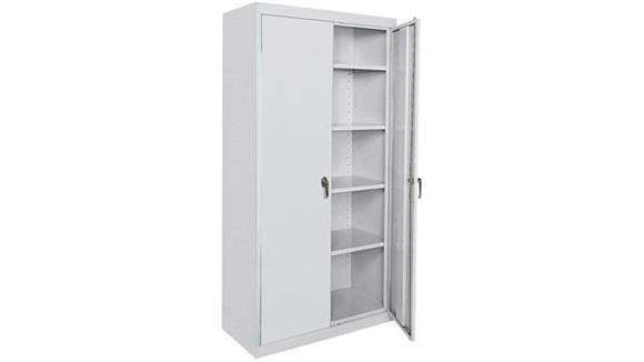 "Storage Cabinets Office Source 78"" x 36"" Extra Deep Storage Cabinet"