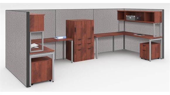 Workstations & Cubicles Office Source Workstation for 2 with Storage