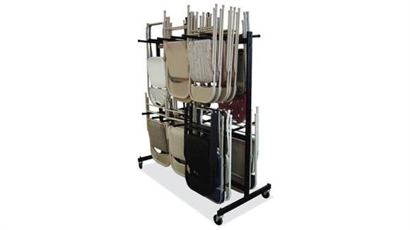 Folding Chairs Office Source Folding Chair Cart