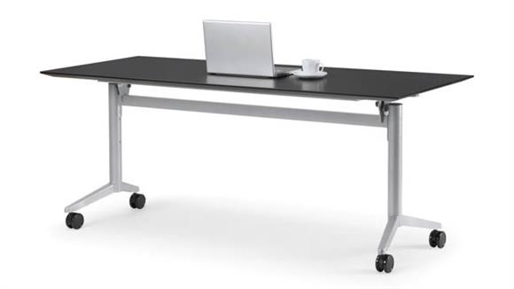 """Training Tables Office Source 60"""" x 24"""" Nesting Table"""