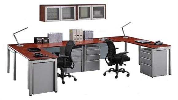 L Shaped Desks Office Source 2 Person L Shaped Table Desk with Hutch