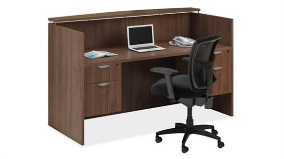 Reception Desks Office Source Reception Desk Workstation