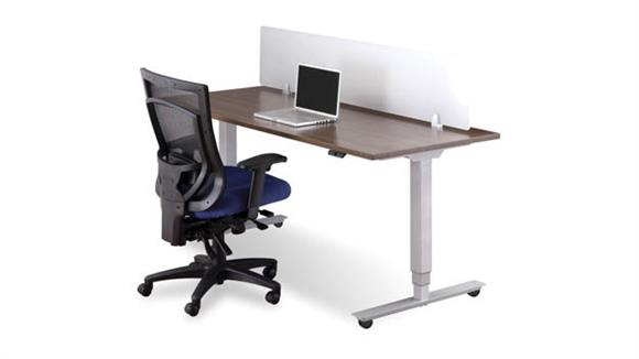Adjustable Height Desks & Tables Office Source Sit to Stand Workstation
