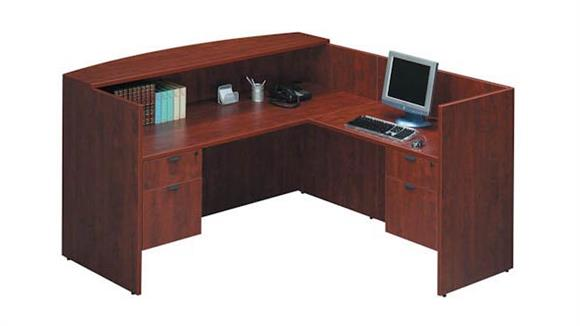 Reception Desks Office Source L Shaped Reception Desk