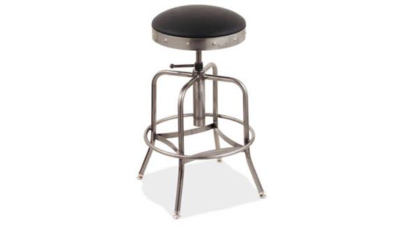 Bar Stools Office Source Padded Seat Adjustable Stool