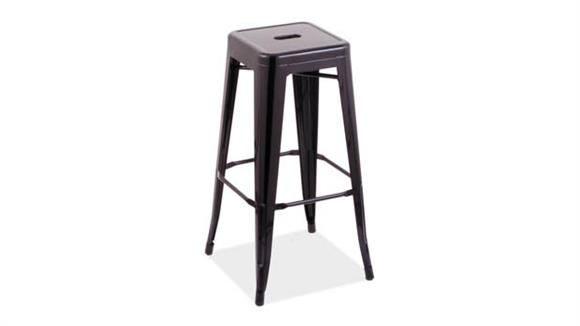 "Bar Stools Office Source 30""H Backless Indoor / Outdoor Stool"